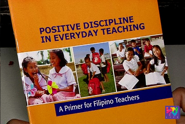 A Department of Educations's book that serves as a guide to teachers on how to impose discipline to students is pictured in a photo. (UNTV NEWS)