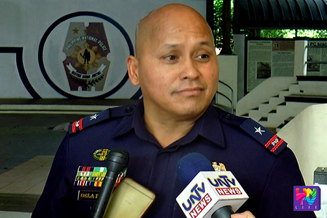 FILE PHOTO: Incoming PNP Chief P/CSupt. Ronald Dela Rosa