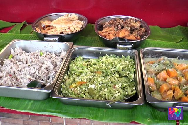 Meals like vegetables and fish are served in a tray in a file photo. (UNTV NEWS)