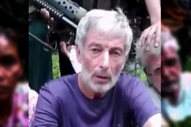 Abu Sayyaf's Canadian hostage Robert Hall is pictured in this file photo.