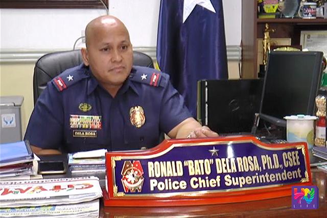 FILE PHOTO: Incoming PNP Chief P/CSupt. Ronald Dela Rosa.