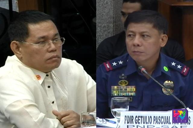 FILE PHOTO: former PNP Chief Alan Purisima (left) and former SAF Director Getulio Napeñas (right).
