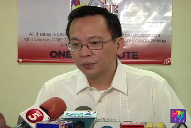 COMELEC Commissioner Christian Robert Lim.