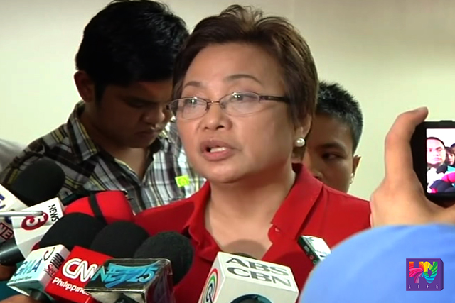 FILE PHOTO: COMELEC Commissioner Rowena Guanzon.