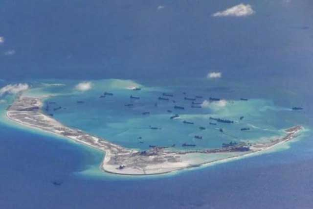 Chinese state media claims UK foray into South China Sea is just 'attention-seeking'