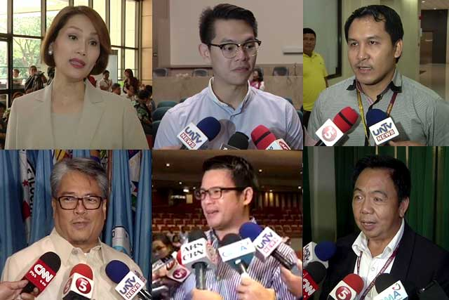 File Photo: incoming neophyte congressmen in 17th Congress.