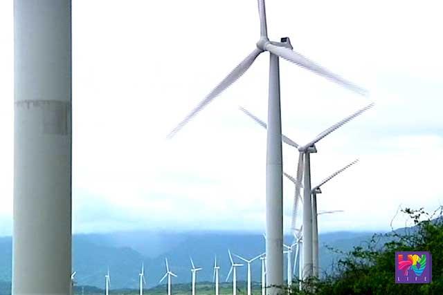 File photo: wind turbines