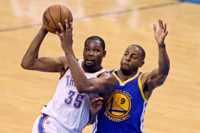 Durant leaving Thunder to join Curry at Golden State ...
