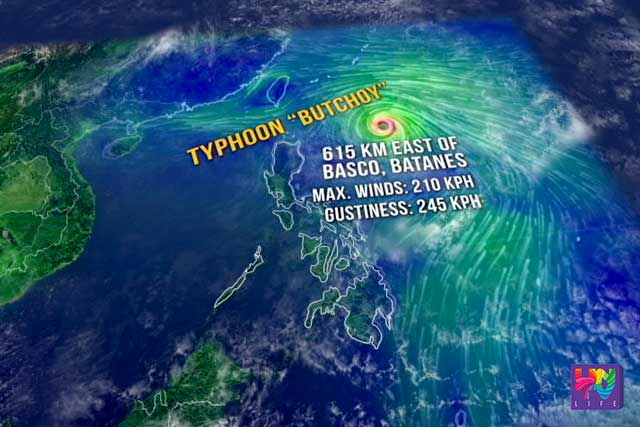 NDRRMC Alerts 7 Regions And 104 Municipalities To Possibly Be Affected By  Typhoon Butchoy