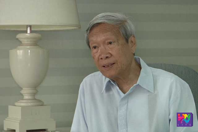 Former dean of the UP College of Law Atty. Pacifico Agabin.