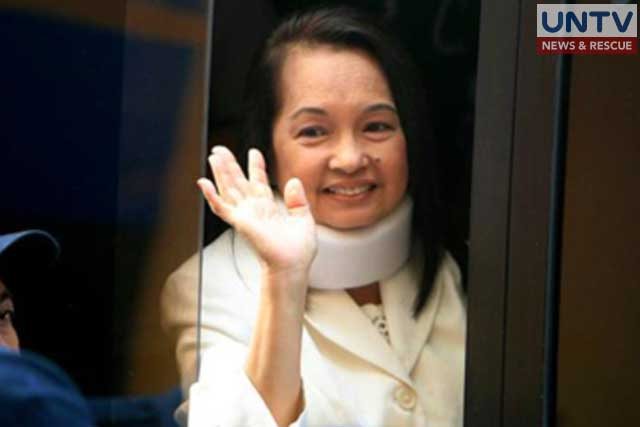 File photo: Pampanga representative Gloria Arroyo.