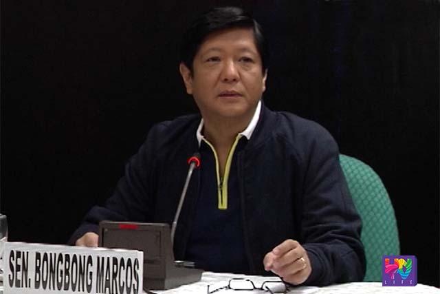 "Senator Ferdinand ""Bongbong"" Marcos, Jr. election protest vs newly proclaimed Vice-president Robredo."
