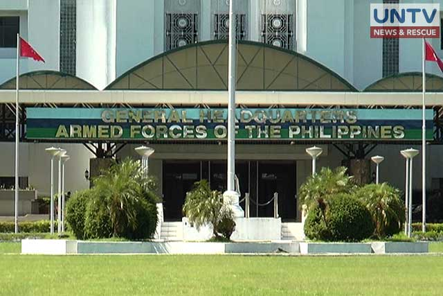 Armed Forces of the Philippines headquarters in Camp Aguinaldo, Quezon City.
