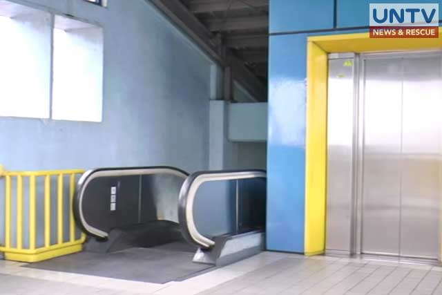 Elevators and escalators in LRT stations have been rehabilitated for the convenience of the commuters.