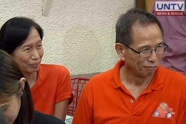 Wilam (L) and Benito Tiamzon (R).