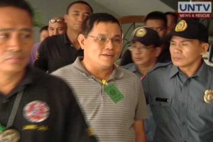 Former PNP Chief Alan Purisima.