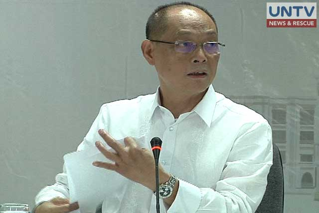 Department of Budget and Management Secretary Benjamin Diokno is pictured in a file photo.