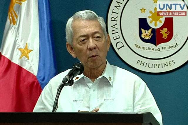 Foreign affairs secretary Perfecto Yasay Jr.