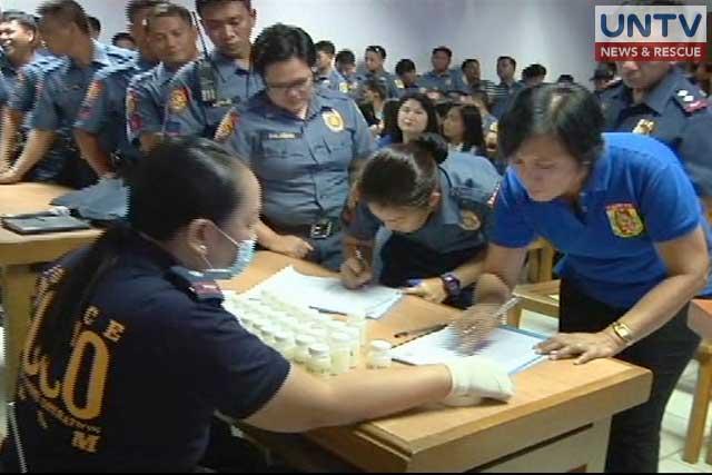130 policemen tested positive of shabu