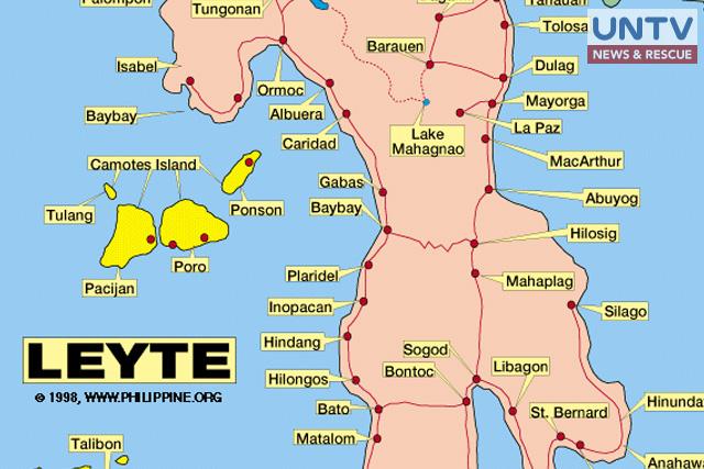 UNTV_LEYTE MAP