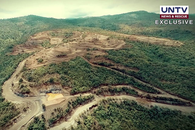 UNTV's exclusive video footage of the effects of mining operations on Zambales' mountains