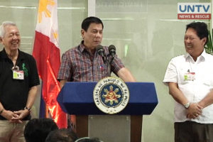 Duterte not bothered by death threats