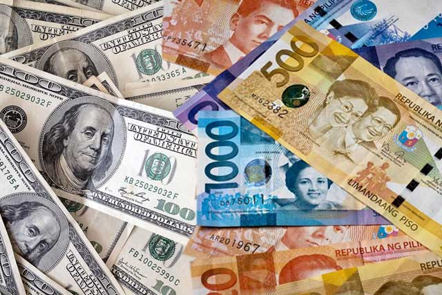 Forex rates dollar to peso