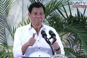 The Malacañang is delighted with the report of international media agencies on the accomplishment of President Rodrigo Duterte (in photo) last year.
