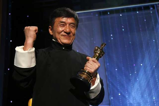 Image result for Jackie Chan Finally Wins An Oscar Award