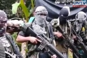File photo: Abu Sayyaf group.