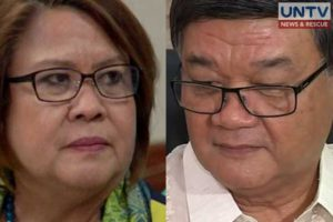 The Department of Justice is set to begin its preliminary probe of another drug-related case filed against Senator Leila de Lima.