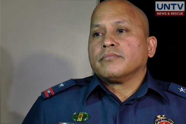Philippine National Police Chief PDG. Ronald 'Bato' dela Rosa