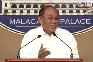 Presidential spokesperson Ernesto Abella.