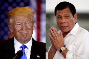 FILE PHOTO: (Left-Right) US President Donald and PHL President Rodrigo Duterte (REUTERS)