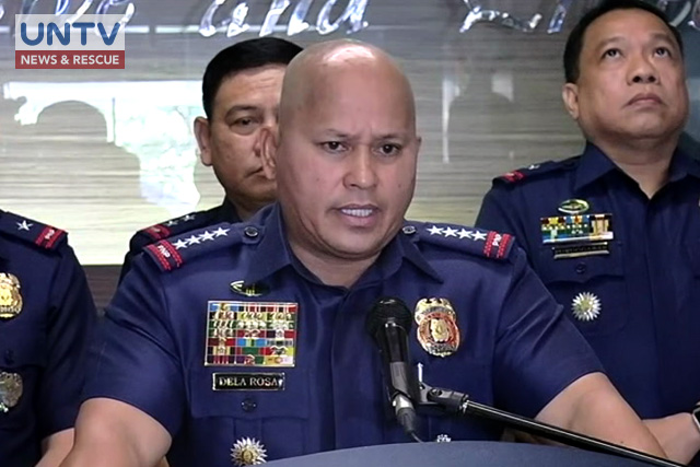 "FILE PHOTO: Philippine National Police Chief Police Director General Ronald ""Bato"" Dela Rosa"