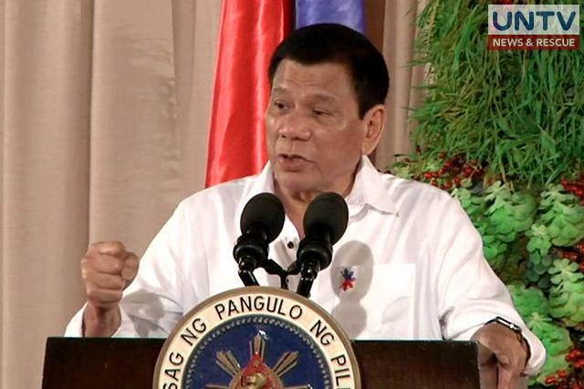 President Rodrigo Duterte.
