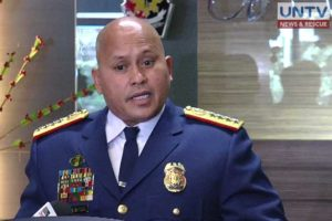 Police chief Director General Ronald dela Rosa encourages his troops to focus on work particularly on top government campaigns this year.