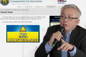The Malacanang has agreed with the action taken by the National Piracy Commission against COMELEC in connection with the massive data breach of voters' information last March 2016.