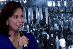 Malacañang cannot comment on reports that, allegedly, the invitation to Vice President Leni Robredo to the annual vin d' honneur was retracted.