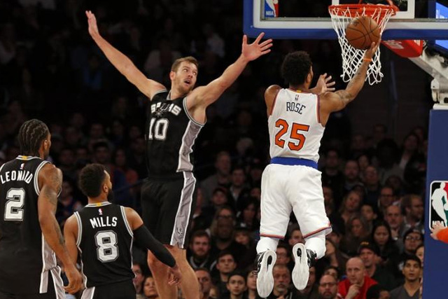 422d2dd41c6f NBA  Knicks end tumultuous week with win over cold-shooting Spurs ...