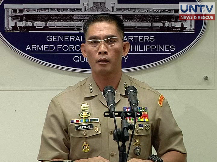 FILE PHOTO: Armed Forces of the Philippines Public Affairs Office Chief Colonel Edgard Arevalo