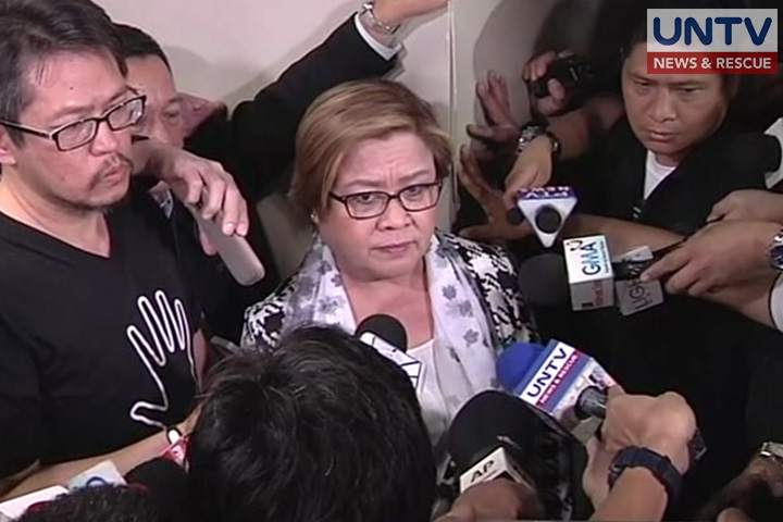 De Lima's SC petition vs arrest order 'premature' - Justice Velasco