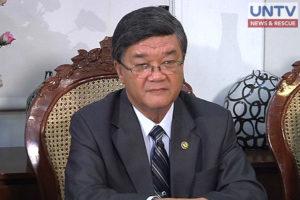 FILE PHOTO: Justice Secretary Vitaliano Aguirre