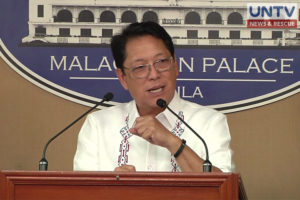 Government peace panel chair and DOLE Secretary Silvestre Bello III