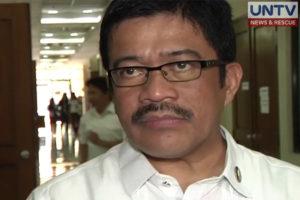 FILE PHOTO: Bayan Muna Representative Carlos Zarate