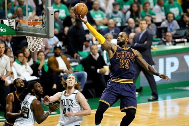 Cavaliers crushes Celtics to book title clash with Warriors
