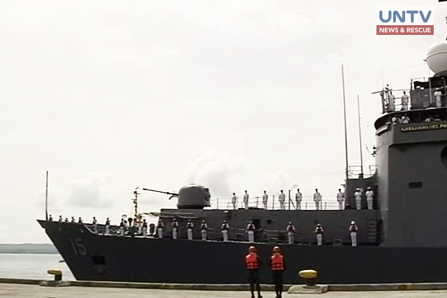 Two Navy Vessels Dock In Davao City As Maritime Security Intensifies In The Region