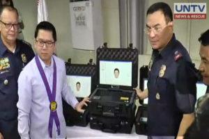 QC Mayor Herbert Bautista and QCPD Director PCSupt. Guillermo Eleazar