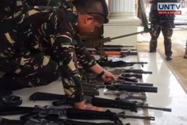 Weapons from China might be used in Marawi ops