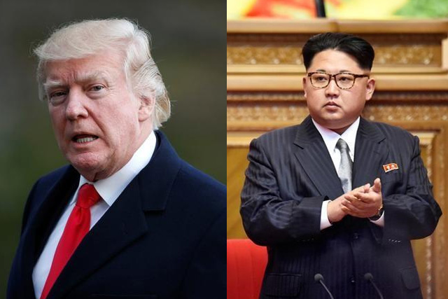 Trump praises North Korea for backing down on missile threat